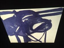"""Franz Kline """"Chief"""" Abstract Expressionism Action Painting35mm Art Slide"""