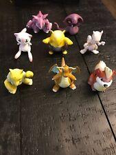 AUTHENTIC Tomy Pokemon Mew Mewtwo Growlithe Dragonite Figure Lot