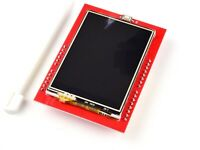 2.4 Inch TFT Color Touch Screen For Arduino - 240 x 320 Pixel - Micro SD