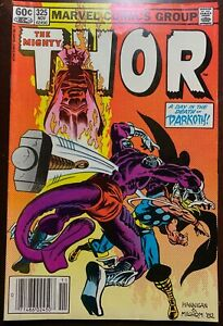 THOR #325  A Deal with Darkoth  1982  FN
