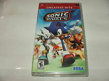Sonic Rivals (Sony PSP, 2006) -- COMPLETE
