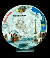 Gien Paris-Paris Montmartre France Designerin I. Barthel Kuchenteller neuw.