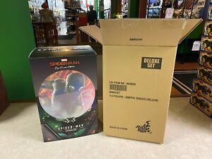 2020 Hot Toys Spider-Man Far From Home Stealth Suit Deluxe MMS 541 Figure NIB