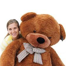 "Joyfay78"" Dark Brown Giant Huge Teddy Bear Stuffed Christmas Gift 200cm"
