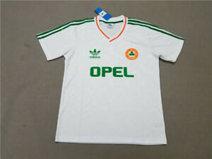 1990-92 Ireland Away Soccer Jersey