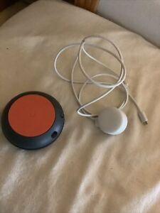 Google Smart Home Speaker Orange/Gray *Tested & Working*