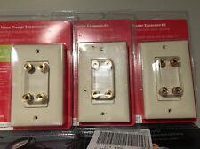 OnQ Legrand 2.1/7.1 Home Theater Expansion Speaker Kit F9005-DM-V1 LOT OF (3)