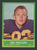 1963 Topps #41 Jim Phillips EXMT/EXMT+ C000016208