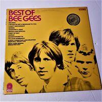 Bee Gees – Best Of: Atco Records 1969 Compilation LP Vinyl Album (Rock / Pop)