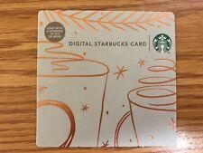HTF Starbucks NYC Brooklyn Bridge Gift Card Never Swiped NO $ VALUE
