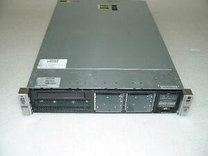 HP Proliant DL380p G8 2U Server 2x E5-2667 2.9Ghz 12-Cores 48gb P420i 2x 72gb