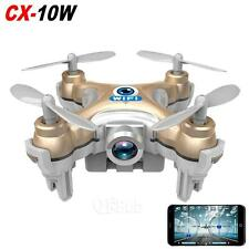 Cheerson CX-10W Mini Wifi FPV 0.3MP Camera 2.4G 4CH 6 Axis Quadcopter BNF LED 3D