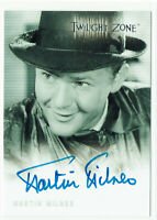 Twilight Zone Series 1 Autograph Card 1999 A-7 Martin Milner as Paul Grinstead