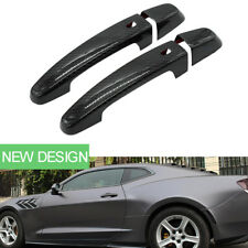 Carbon Fiber Handle Cover Car Exterior Door Handles Covers for Chevrolet Camaro