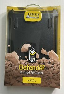 OTTERBOX DEFENDER CASE for Apple iPad Mini 4 - Black *Good Price* New package!