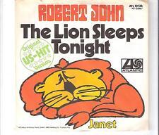 ROBERT JOHN - The lion sleeps tonight