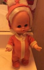 Horsman Pooty Tat Doll Vintage 1960's W/ Cute Pudgy Tummy!Clean&Sanitized !