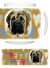 Perfect Gift. Mastiff Personalised Ceramic Mug D246