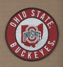 NEW 3 1/2 INCH OHIO STATE BUCKEYES IRON ON PATCH FREE SHIPPING P1