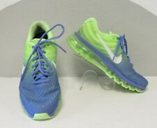 NIKE AIR MAX Womens 8 2017 NEON YELLOW BLUE OMBRE Running Shoes RARE Training