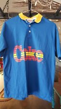 Rare Vintage Coca Cola Wearables Polo Rugby Shirt M
