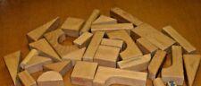 Lot of 32 wood blocks shapes