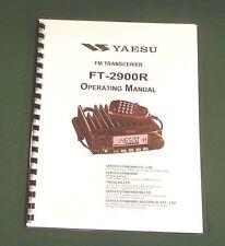 Yaesu FT-2900R Instruction Manual -  Premium Card Stock Covers & 28 LB Paper!