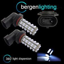 2X HB3 9005 WHITE 60 LED FRONT MAIN HIGH BEAM LIGHT BULBS CAR KIT XENON MB500801