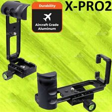 Fujifilm X-Pro2 XPro2 Alloy Quick Release L-Plate Bracket Vertical Hand Grip DN