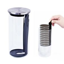 Kaffeepadbehälter aus Glas