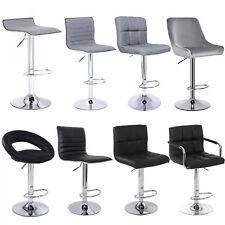Bar Stools Kitchen Breakfast  Pub Stool Swivel Stool Counter Chair Adjustable