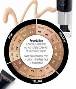 Beauticontrol Smooth Perfection Foundation (LOT OF 2) (Shade P5) All Skin Types