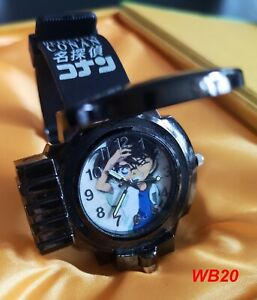 Japanese Anime Secret file 2 Conan Quartz Wrist Watch Gift  WB20,21