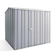 YardSaver G66 2.1m x 2.1m Gable Roof Single Door Zinc Garden Shed - AUG SPECIAL