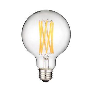 Sunlite 80600-SULED G30 Filament Light Bulb, 8-Watt (100W Equivalent), Dimmab...