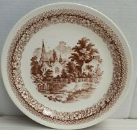 Vintage Crown Lynn Heritage Pattern Side Plate Made In New Zealand c1981-88