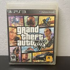 New listing Ps3 - Grand Theft Auto V 5 - Manual No Map - Free Shipping