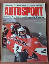 Autosport 26th April 1973 Pescarolo wins Thruxton F2, Singapore GP