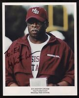 Sylvester Croom Signed 8x10 Photo College NCAA Football Coach Autographed
