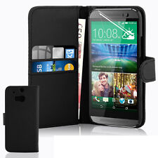 New Leather Wallet Pouch Flip Book Card Slot Stand Case Cover For Mobile Phone