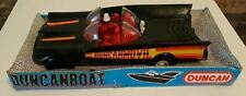 BATMAN BATMOBILE BY DUNCAN 1960'S MADE IN MEXICO W/ORIGINAL BOX HTF DUNCANMOBILE