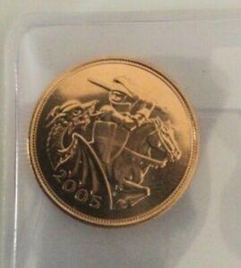 2005 Full Gold Sovereign .