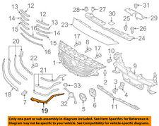 MAZDA OEM 16-17 6 Front Bumper Grille-Lower Molding Trim Left G46L507K1