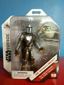 Disney Toybox Store Exclusive Star Wars The Mandalorian & The Child