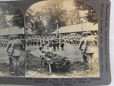 WW1 DECORATING WITH MEDAILLE MILITAIRE ADJUTANT DAMBRINE! KEYSTONE STEREOVIEW 24