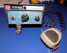 WORKING FEDERAL SIGN & SIGNAL VINTAGE MODEL PA-20A ELECTRONIC INTERCEPTOR SIREN