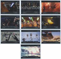2013 Star Wars Galactic Files Series 2 Honor the Fallen Insert Set 10 Card