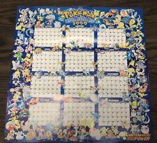 Nintendo Power Pokemon 1999 Calendar RARE !!!