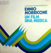ENNIO MORRICONE  2 LP LE COLONNE SONORE ORIGINALI UN FILM IN MUSICA