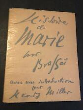 [11133-B8] Brassai - Miller Henry - Histoire de Marie - 1949